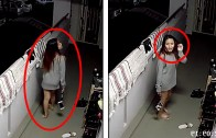 Kameralara Yakalanan Korku Dolu Paranormal Olaylar