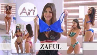 Seksi Latin Güzelinden Göz Alıcı Bikini Performansı