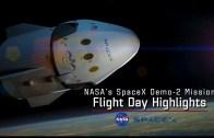 SpaceX DM-2 Fırlatma Gününden Öne Çıkan Görüntüler