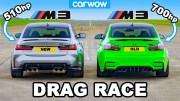BMW M3 Kapışması – Yeni vs. Eski Kısa Mesafe Yarışı