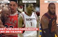 Son 30 Yılın En Çok İzlenen NBA Anları Karşınızda!