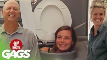 Açık Alanda Yapılan Tuvalet Şakası Gülmekten Öldürüyor!