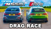 Audi RS6 ve BMW 550i Kısa Mesafe Yarışı Karşınızda!