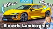 Lamborghini – 800 Beygir Gücündeki Elektrikli Araç!
