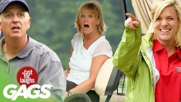 Yaratıcı Fikirlerle Yapılan Golf Şakaları Karşınızda!