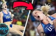 Erken Sevinerek Hata Yapan Olimpik Atletler Karşınızda