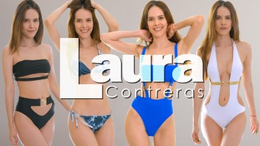 Ateşli Laura'dan Nefes Kesen Bikini Şovu Karşınızda