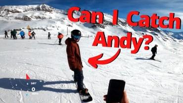 1600 Metrelik Dağın Zirvesinden Yapılan Kayak Yolculuğu