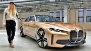 BMW i4 – Altın Rengiyle Sunulan Elektrikli Araç Modeli