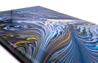 Daireler Çizerek Yapılan Efsane Akrilik Boyama Sanatı