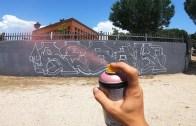 Düz Duvarı Efsane Hale Getiren Harika Grafiti Çalışması