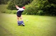Şaşkın İnsanlardan İnanılmaz Golf Kazaları Karşınızda
