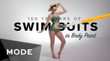 Yıllara Göre Boyanarak Yapılan Sıra Dışı Bikini Şovu