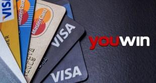 Youwin kredi kartı ile ödeme.