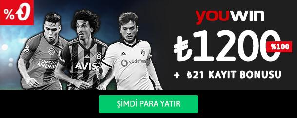 Youwin Spor Üyelik Bonusu