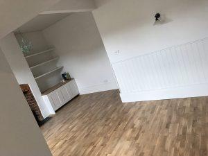Lounge Wood Flooring