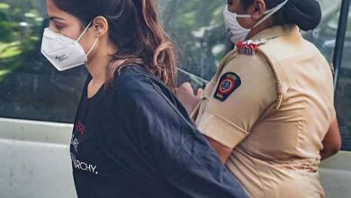 Photo of Rhea Chakraborty arrested by NCB on drug dealing charges