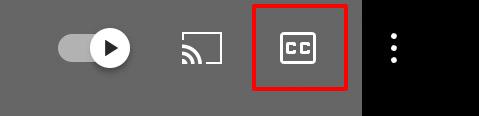 YouTube字幕の切り替え