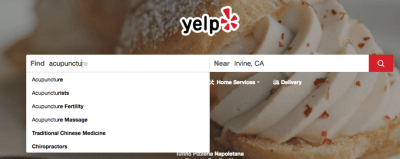 rank higher under your search term in yelp
