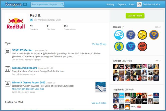 Foursquare: moda, juego y red social. Beneficios para la empresa. Crea tu sitio y sácale partido. (4/5)
