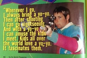 Yoyos and guns