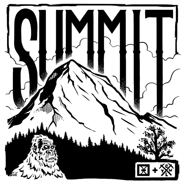 CLYW x One Drop The Summit Artwork by Jason Week