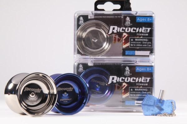 YoYoFactory Ricochet Titanium