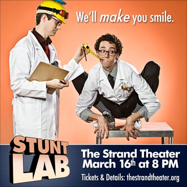 Stunt Lab at The Strand Theater