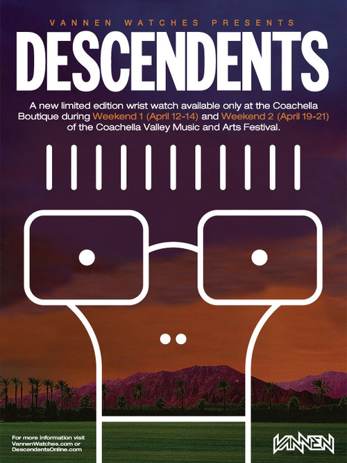 Vannen Watches Descendents Coffee Time Coachella