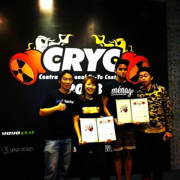 CRYC 1A Winners
