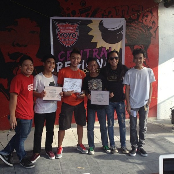 2013 Philippine Central Regional YoYo Contest 4A Division Winners