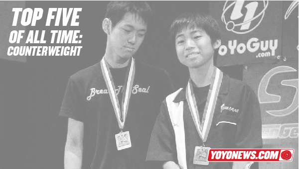 YoYoNews Top 5 Counterweight Players Of All Time