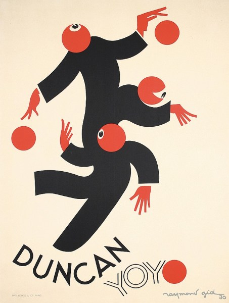 Duncan YoYo Vintage Poster 1930s
