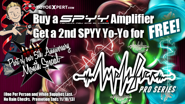 YoYoExpert SPYY Promotion