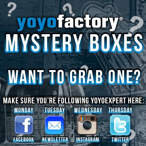 YoYoFactory Mystery Boxes at YoYoExpert.com