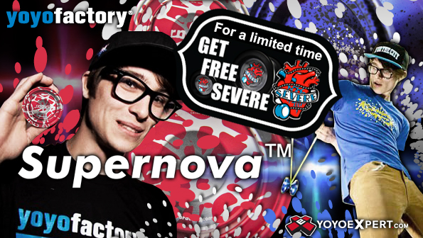 Free Severe with Supernova at YoYoExpert