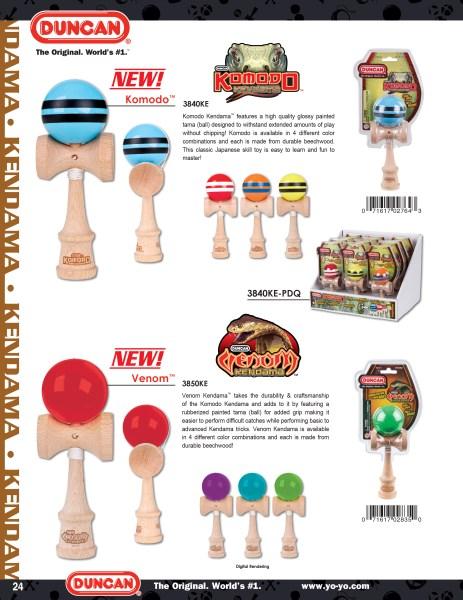 2014 Duncan Toys Catalog - Venom Kendama