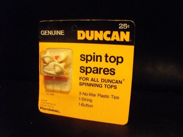 Vintage Duncan Spin Top Tips