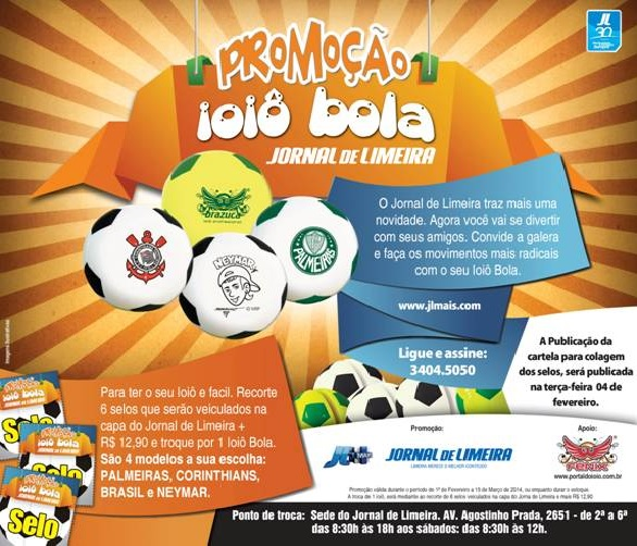 Brazilian Soccer Ball YoYo Promotion
