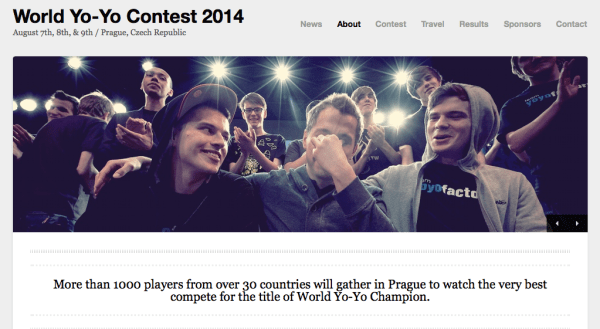 2014 World YoYo Contest