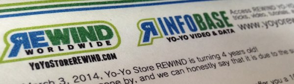YoYo Store Rewind Coupon