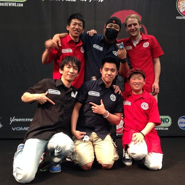 Duncan Crew at 2014 Japan Nationals