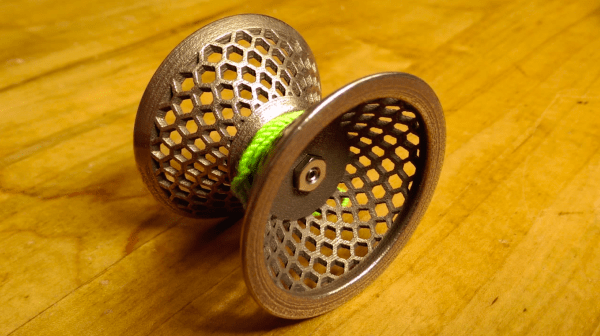 3D Printed Metal YoYo by Adam Blanchard