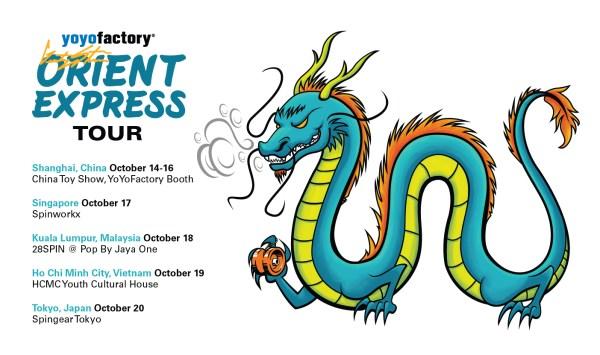 YoYoFactory Orient Express Gentry Stein Tour