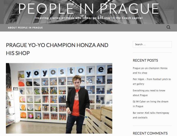People In Prague - YoYoStore