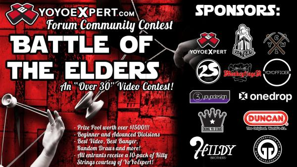 "YoYoExpert ""Battle of the Elders"" Video Contest"
