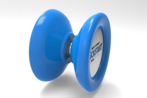 iYoYo Kickstart crowdfunded plastic yoyo