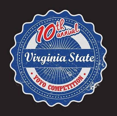 2016 Virginia State yoyo contest logo