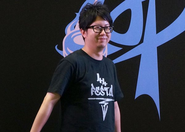 44FESTA leader Masanobu Iwata