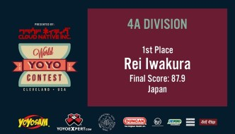 2019 World YoYo Contest – 4A Results